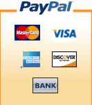 Pay safely and securely with PayPal